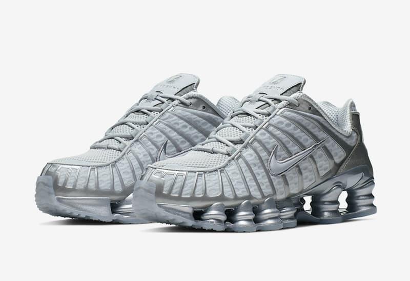 Nike Shox TL Platinum Chrome 1