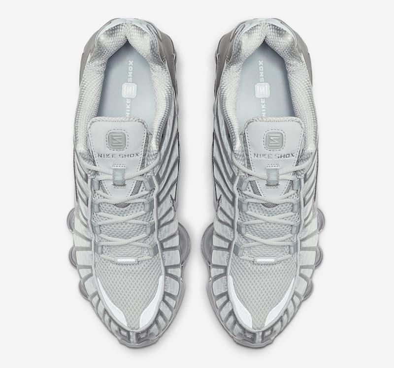 Nike Shox TL Platinum Chrome 2