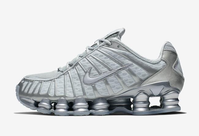 Nike Shox TL Platinum Chrome 4