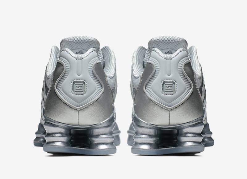 Nike Shox TL Platinum Chrome 5