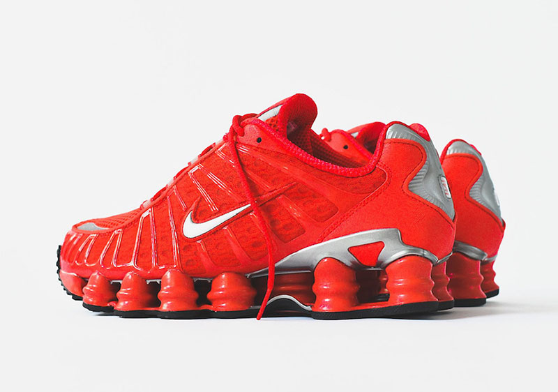 Nike Shox TL Speed Red 1