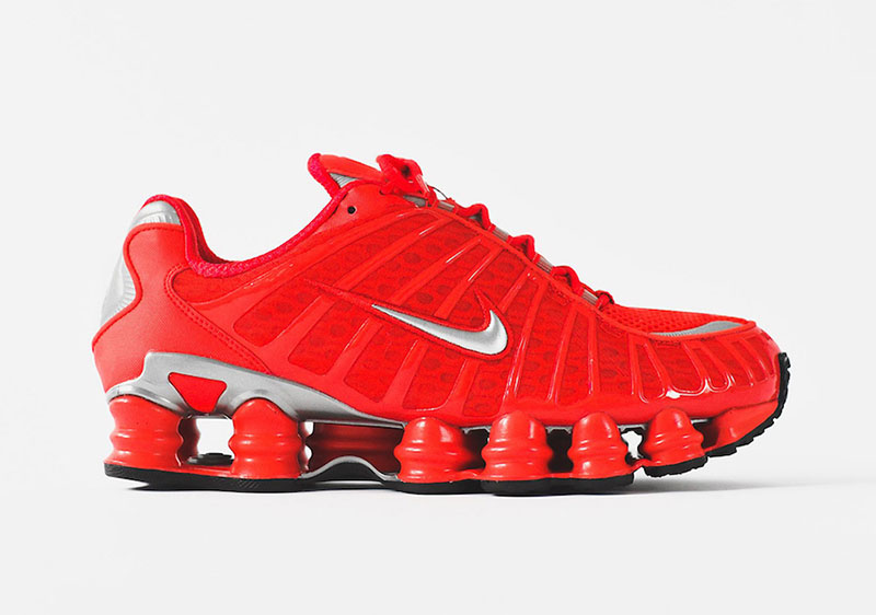 Nike Shox TL Speed Red 2