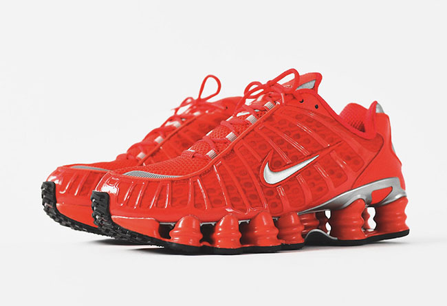 Nike Shox TL Speed Red 5