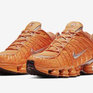 Nike Shox TL Total Orange 1
