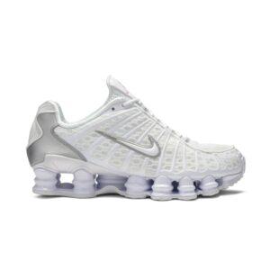 Nike Shox TL White Metallic Silver W