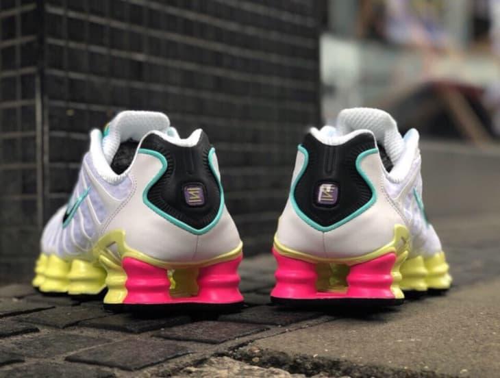 Nike Shox TL White Multi Color W 3