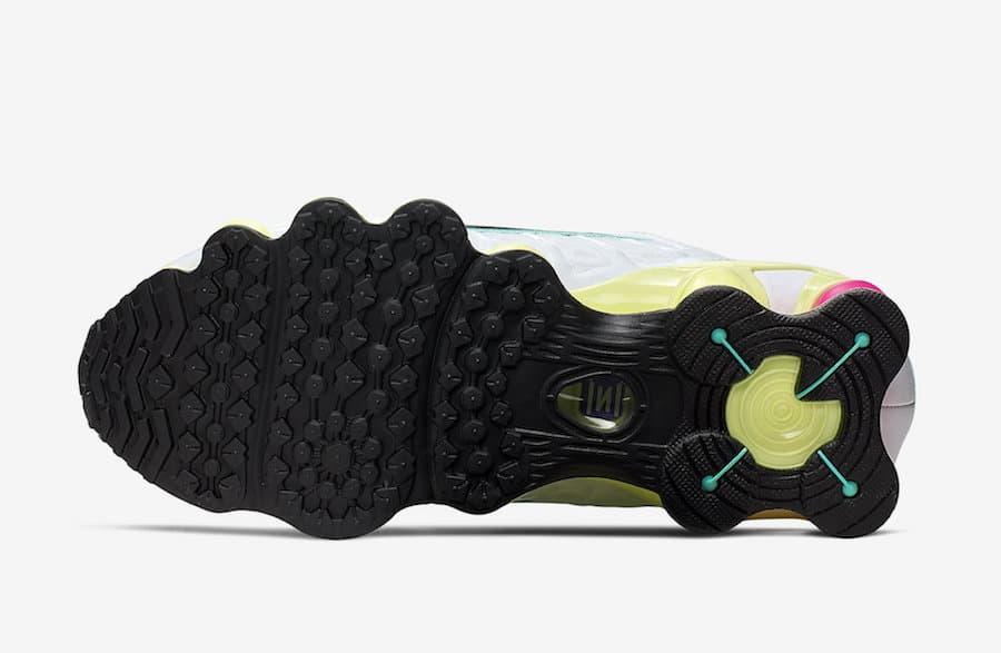 Nike Shox TL White Multi Color W 7