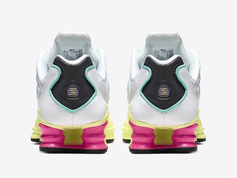 Nike Shox TL White Multi Color W 8