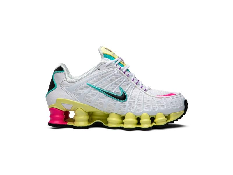 Nike Shox TL White Multi Color W