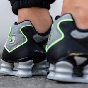 Nike Shox TL Wolf Grey Lime Blast 1