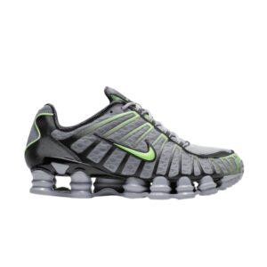 Nike Shox TL Wolf Grey Lime Blast