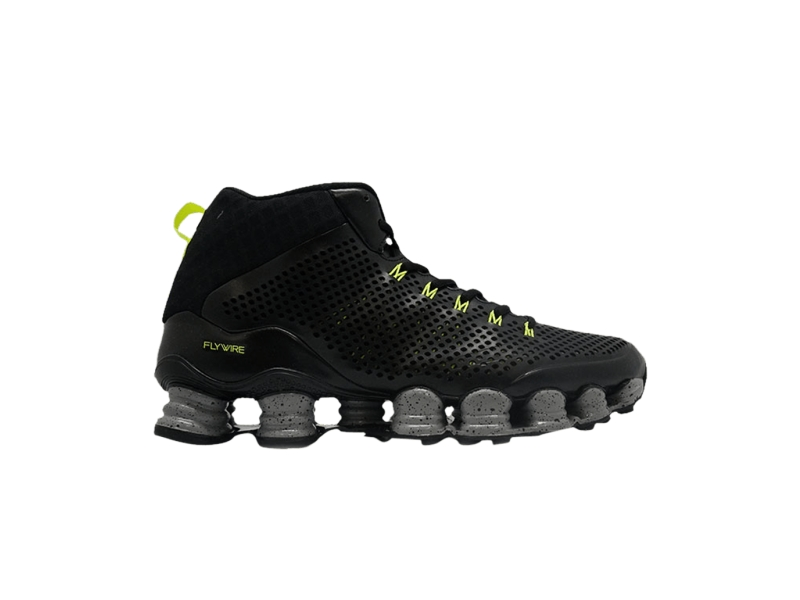 Nike Shox TLX Mid SP Black Silver Volt
