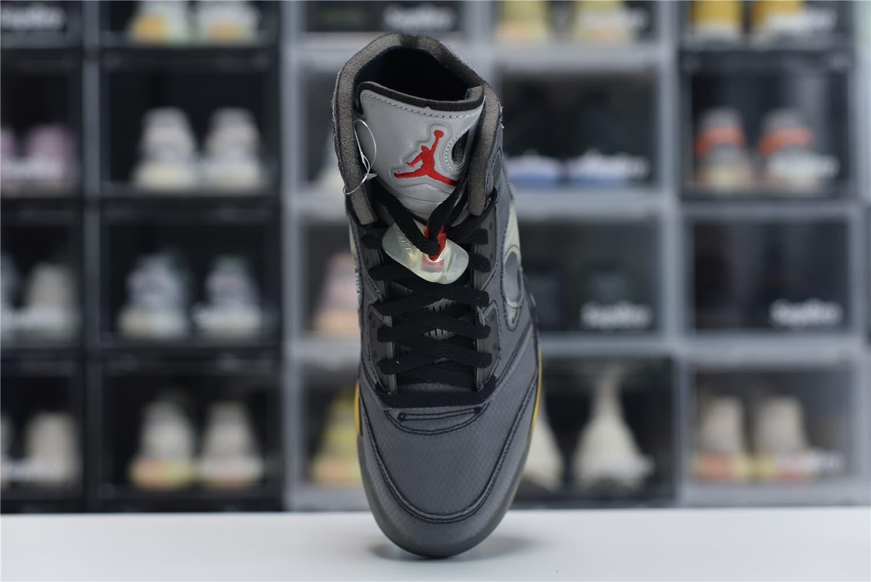 Off White x Air Jordan 5 Retro SP Muslin 5