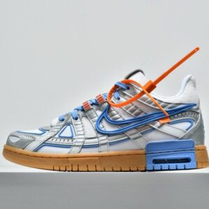 Off White x Air Rubber Dunk University Blue 1