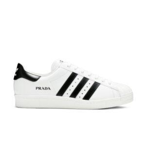 Prada x adidas Superstar White Black