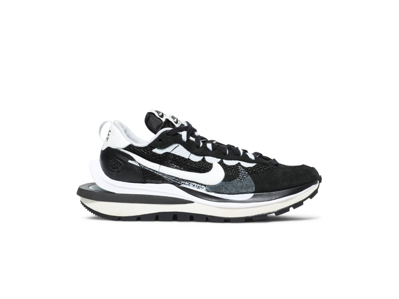 Sacai x Nike VaporWaffle Black White
