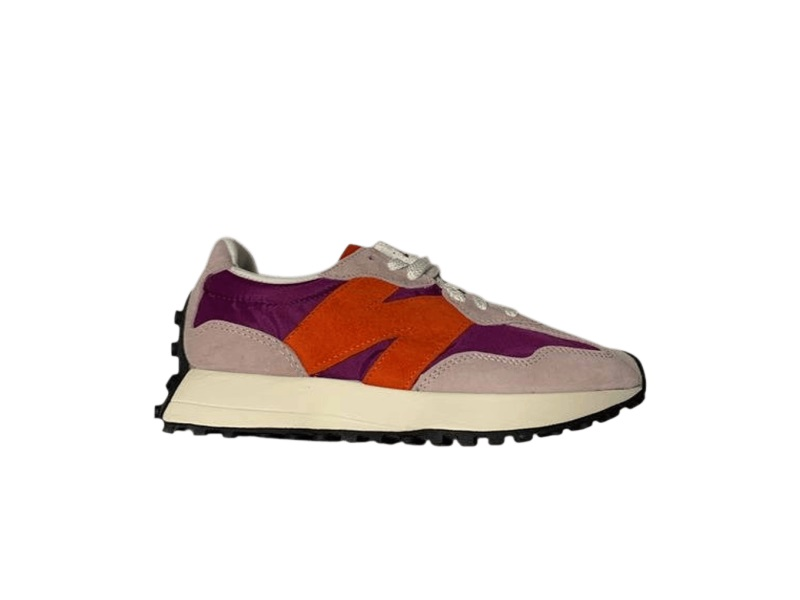 Size x New Balance 327 Purple Orange