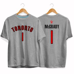 Toronto Raptors 1 Tracy McGrady tee by slamdunk 3
