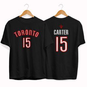 Toronto Raptors 15 Vince Carter tee by slamdunk