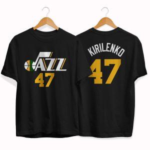 Utah Jazz 47 Andrei Kirilenko tee by slamdunk 2