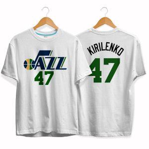 Utah Jazz 47 Andrei Kirilenko tee by slamdunk