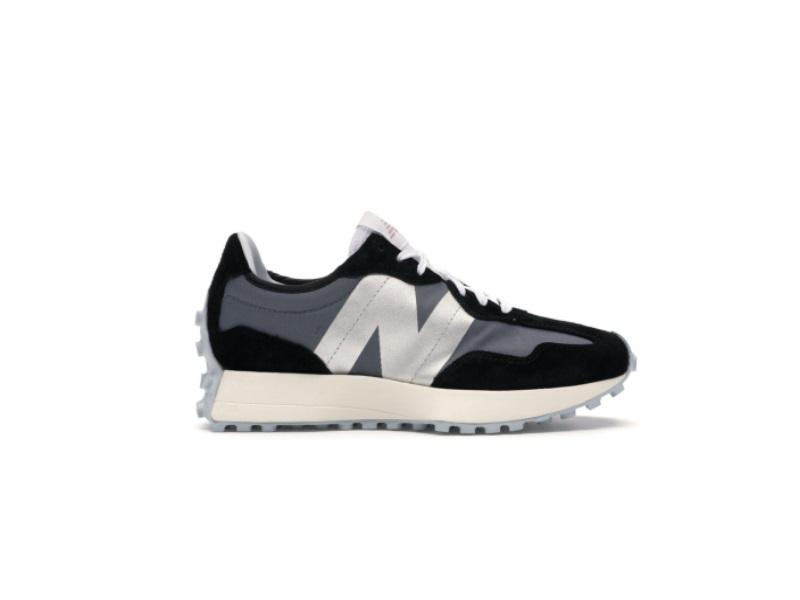 Wmns New Balance 327 Black White