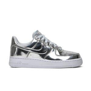 Wmns Nike Air Force 1 SP Liquid Metal Chrome