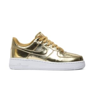 Wmns Nike Air Force 1 SP Liquid Metal Gold
