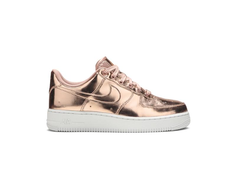 Wmns Nike Air Force 1 SP Metallic Rose Gold