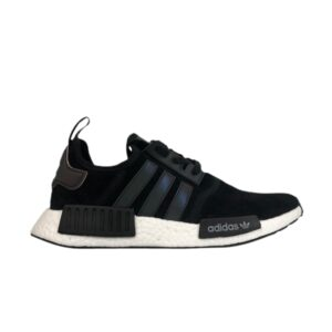 adidas NMD R1 J Black Shiny Blue