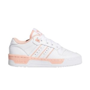 adidas Rivalry Low J White Glow Pink