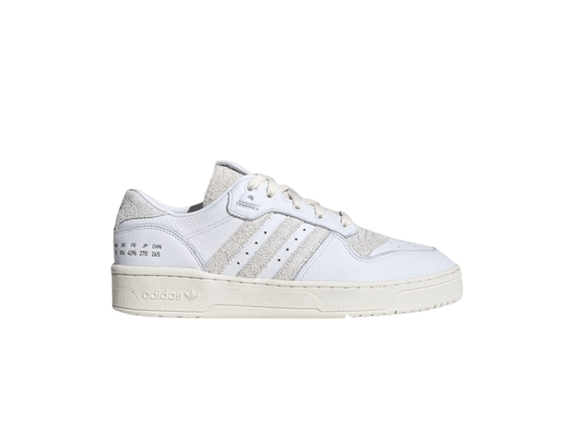 adidas Rivalry Low Size Tag Pack Crystal Off White