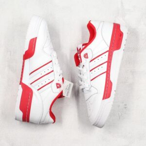 adidas Rivalry Low White Scarlet 1