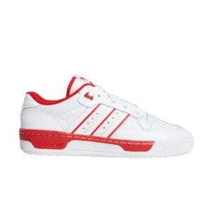 adidas Rivalry Low White Scarlet