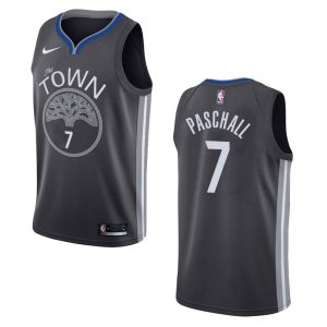 2019 20 mens warriors eric paschall city edition jersey black