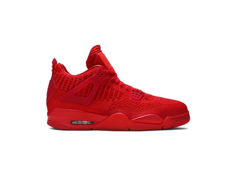 Air Jordan 4 Flyknit University Red