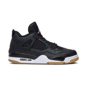 Air Jordan 4 Retro Laser Black Gum