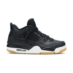 Air Jordan 4 Retro Laser Black Gum GS