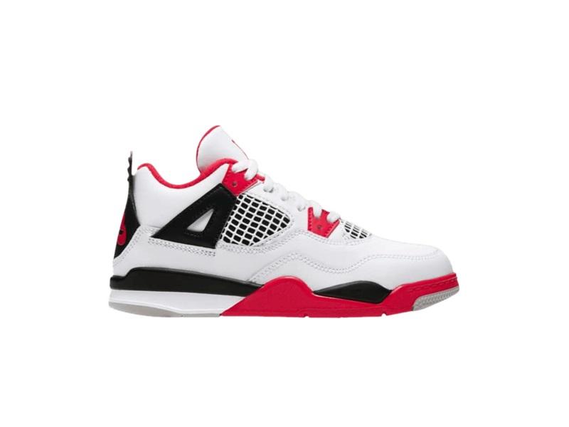 Air Jordan 4 Retro OG Fire Red 2020 PS