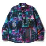 BAPE Neon Tokyo Shirt Black 1