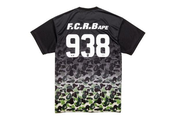 BAPE x F.C.R.B. Game Shirt Black 1