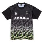 BAPE x F.C.R.B. Game Shirt Black