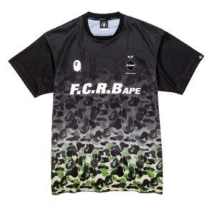 BAPE x F.C.R.B. Game Shirt Black