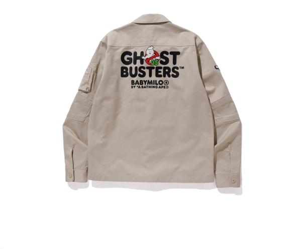 BAPE x Ghostbusters Baby Milo Shirt Beige 1