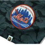 BAPE x Mitchell Ness Mets Jersey Black 2