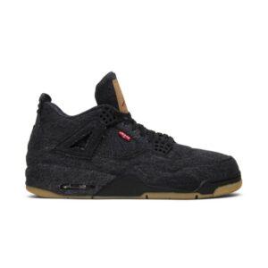 Levis x Air Jordan 4 Retro Black Denim
