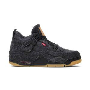 Levis x Air Jordan 4 Retro Black Denim GS