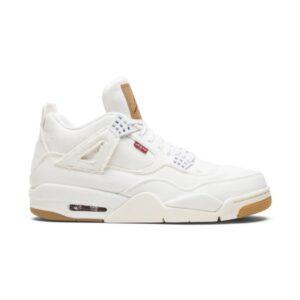 Levis x Air Jordan 4 Retro White Denim