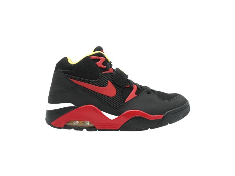 Nike Air Force 180 Black Varsity Red Vrsty Mz
