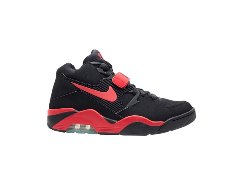 Nike Air Force 180 Black Varsity Red